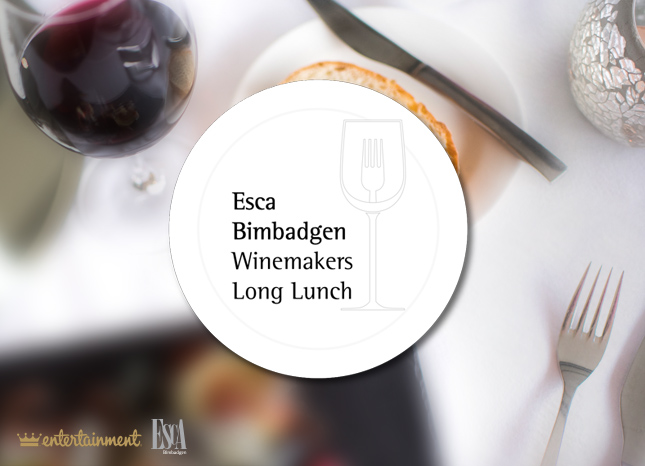 Esca Bimbadgen Winemakers Long Lunch