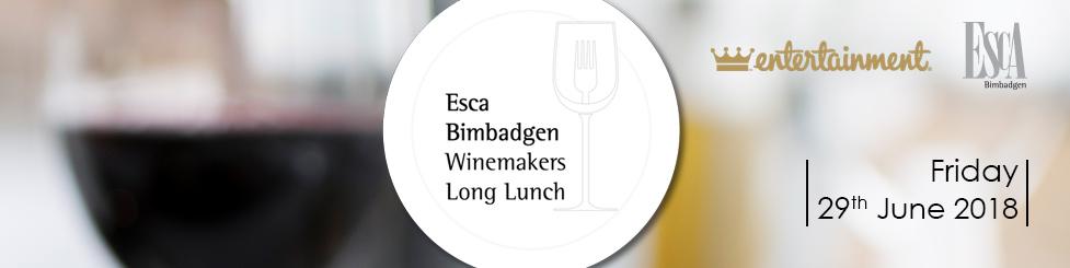 Esca Bimbadgen Winemakers Long Lunch