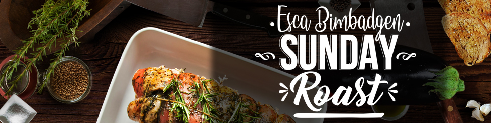 Esca Bimbadgen Sunday Roast every Sunday this Winter