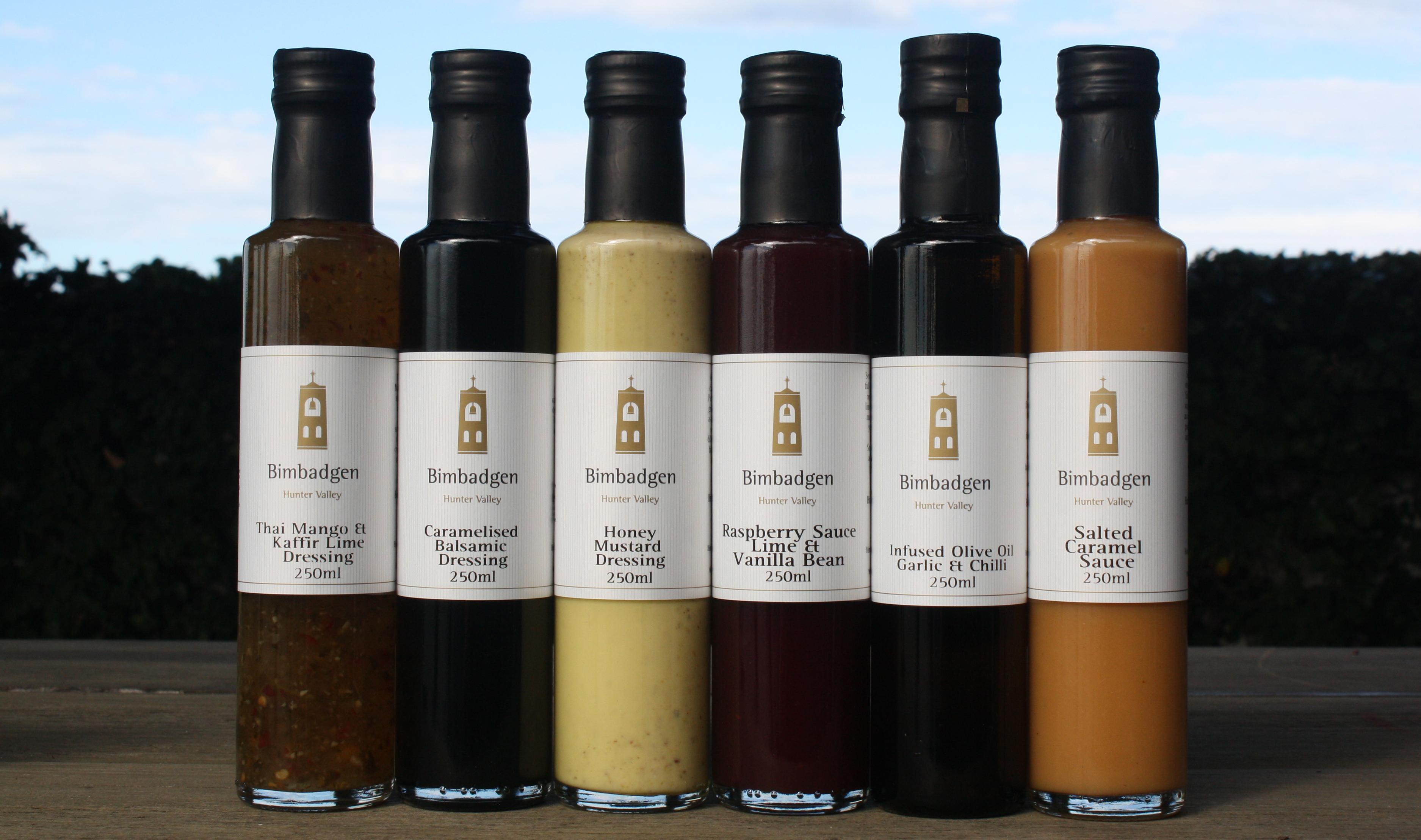 Bimbadgen Hunter Valley condiments