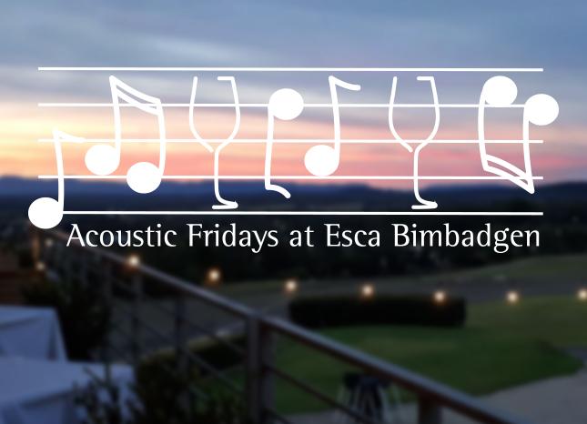 Esca Bimbadgen Acoustic Fridays